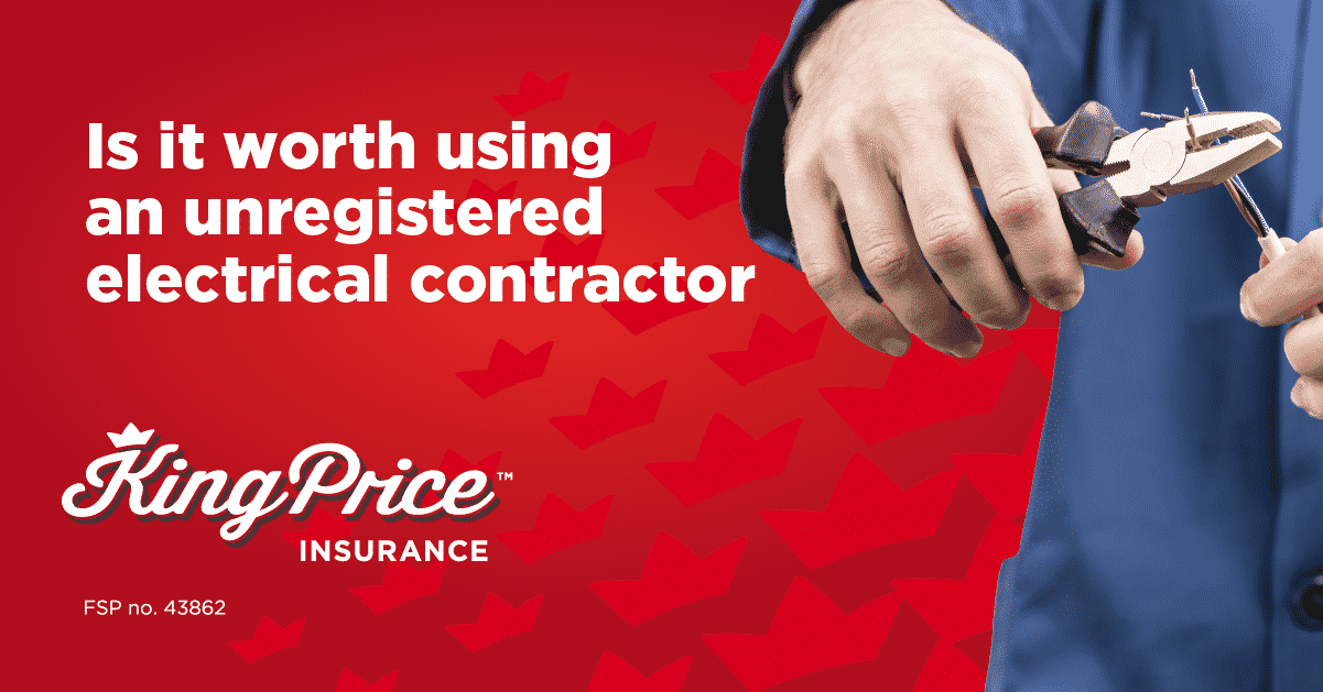 Is it worth using an unregistered electrical contractor